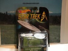 Hot Wheels Retro Entertainment Star Trek 50 U.S.S. Enterprise NCC-1701