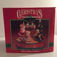 Welcome Santa Animated Musical Christmas Decor Christmas Traditions