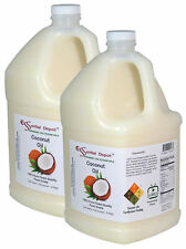 Coconut Oil - Food Safe - 2 Gallons - 2 x 1 Gal Jugs - Free Us Shipping