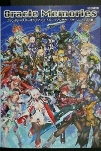 JAPAN Phantasy Star Online 2 Trading Card Game Illustrations: Oracle Memories