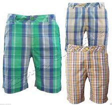 Men's Regular Check Other Shorts