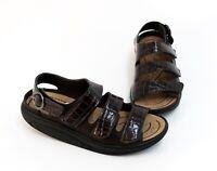Woody Ronja Holz Schuhe Clogs Sandalen schwarz nero Leder