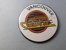 VANCOUVER CANUCKS NHL HOCKEY BUTTON LOGO VINTAGE  FAN SOUVENIR PIN BACK