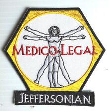 "Bones TV Series Jeffersonian Medico-Legal Logo 3.25"" Patch- FREE S&H (BOPA-02)"