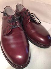 Rockport Burgandy Size 10 1/2 10.5 Original Dressport Oxford Shoes Business