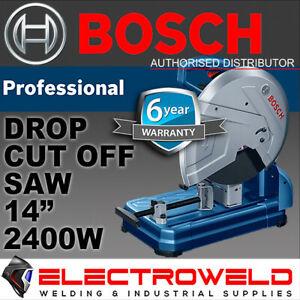"*BOSCH 355mm 14"" METAL CUT OFF SAW* 2400W CHOP DROP CIRCULAR MITRE GCO 14-24J"