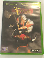 1 x BOXED ORIGINAL PAL XBOX GAME VIDEOGAME NEW LEGENDS By THQ TESTED & GWO