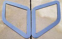 FOCUS RS MK3 STYLE ABS PLASTIC UNDER BONNET VENT TRIM PLATES OEM SATIN BLACK