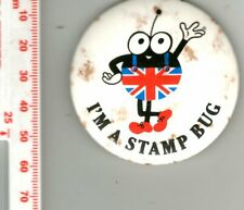Pin Badge - I'M A STAMP BUG