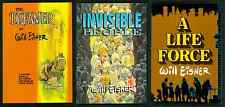 Will Eisner The Dreamer,  Invisible People,  A Life Force ~ TPB ~ Lot of 3