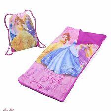 Sleeping Bags For Kids Girls Slumber Set Home Bedroom Sling Sleepover Princess
