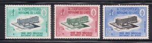 Laos   1966   Sc # 126-28   MLH   OG   (1-333)