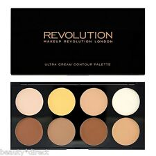 Makeup Revolution Ultra Cream Contour Palette Contouring Sculpting Highlighting