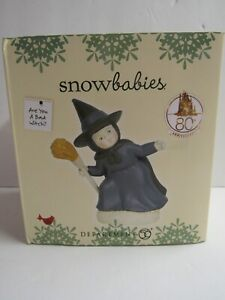 Dept 56 Snowbabies Wizard Of Oz Are You A Bad Witch 6003518