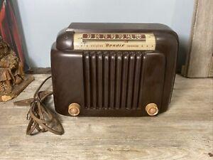 Vintage Bendix AM Bakelite Tube Radio 526A (1946) ***Works***