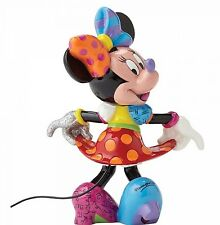 Disney Britto Showcase Minnie Mouse Resin Figurine Hand Painted In Branded Gift