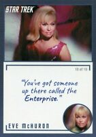 Star Trek TOS Archives & Inscriptions card #15 Eve McHuron Variation 18 of 18
