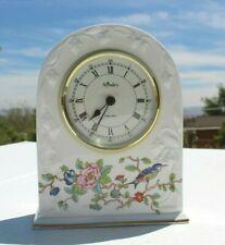Aynsley Pembroke Tabletop Clock Fine England Bone China