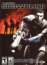 PROJECT: SNOWBLIND War Shooter for Windows XP PC Game NEW in BOX - US Version