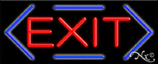 """New """"Exit"""" 32x13 Border Real Neon Sign w/Custom Options 10790"""