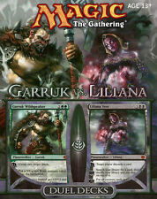 Magic the Gathering MTG - Garruk vs Liliana Factory Sealed Duel Deck