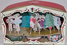 Meri MERI NUTCRACKER THEATER Cupcake Decor Kit NEW Christmas Holiday