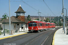 Original Photograph: San Diego Trolley U2 1025 at Lemon Grove Depot (5 x 7)