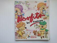 Woofits les 4 saisons - album Panini complet - français 1982