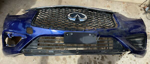 2017 2018 2019 infiniti QX30 front bumper cover oem used