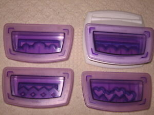 Wilton Sugar Sheets Scallop Border Punch Set with 3 Extra Borders New NEVER USED