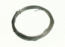 NEW MIRROR / PICTURE FRAME HANGING WIRE 12KG BREAKWEIGHT 3M X 0.6MM STEEL (6 rol