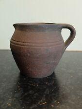 Jordan Ware earthenware jug. Made in Clapham, Sussex, circa 1918-39