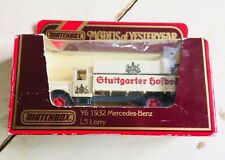 "Matchbox Models of Yesteryear Y-6 1932 MERCEDES BENZ L5 Lorry "" GTUTTGARTER"