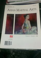 Journal of asian martial arts volume 13