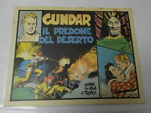 1977 FLASH GORDON 1943 Sunday Dailies ITALIAN Color Reprints GUNDAR 16x12.5
