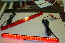 LED Spoiler Brake Light Red with Red Lens 13.8 vdc CH1551