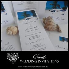 Tropical Beach Wedding Invitations & Stationery - Samples Invites ONLY $1