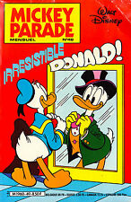 Mickey Parade N°49 - Irresistible Donald - Eds. Edimonde - 1984