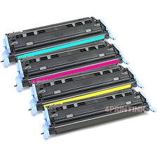 4 Pack Q6000A-Q6003A Toner For HP Color LaserJet 1600 2600 2605dn 2605dtn