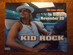 Kid Rock promo window sticker for COCKY 2001 Atlantic & Lava Records