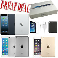 Open Box+Bundle! Apple iPad Mini 1/2/3/4 Generation - 16/32/64/128GB - Wi-Fi +4G