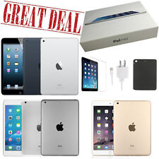Apple iPad Mini 1/2/3/4 Generation - 16GB, 32GB, 64GB, 128GB, Wi-Fi Only and +4G