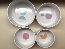 Set Of 4 MESU Ceramic Nesting Measuring Bowls.