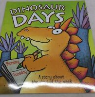 DINOSAUR DAYS OF THE WEEK PRESCHOOL Big Teacher Book Big Book PB Day Care