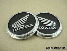 HONDA GORILLA MONKEY Z50 Z50 Z50J Z50R FUEL TANK EMBLEM 1PAIR // Black
