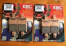 2x EBC epfa417/4hh,Pastillas Freno KAWASAKI ZZR 1400 ,zzr1400,Metal Sinterizado