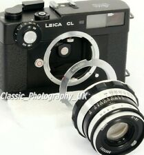 Adapter for LEICA L39 / LTM 50-75mm Lenses to be used on LEICA M Leica-M Cameras