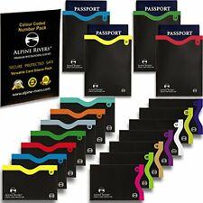 I18 RFID Blocking Sleeves 14 Credit Card Holders & 4 Passport Protectors-Premium
