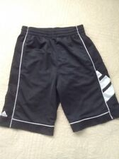 Boys Black Adidas Basketball Athletic Shorts W Pockets Size Youth Small