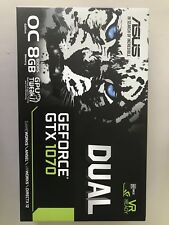 ASUS GeForce DUAL-GTX1070-08G 8GB OC Edition Video Card